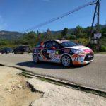 Car racing in Corsica